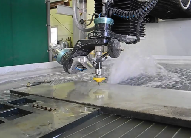 5-axis waterjet