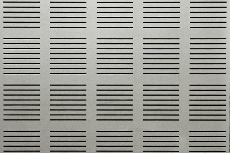 Gray Metal Ventilation Grille